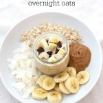 Change up your breakfast routine with these Chunky Monkey Overnight Oats!