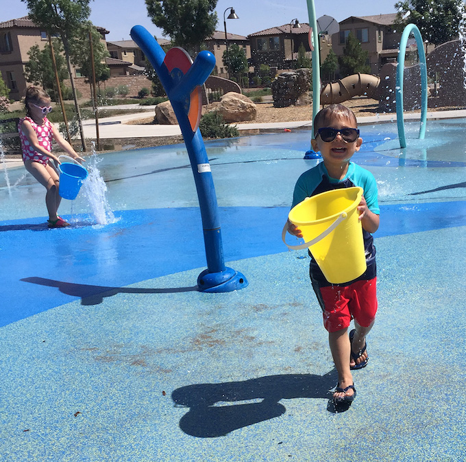 Five Fact Friday - fun at the splash pad!
