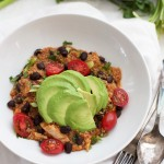 Enchilada Quinoa Bowls - these come together in minutes and taste amazing.