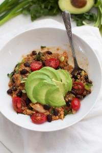 Enchilada Quinoa Bowls