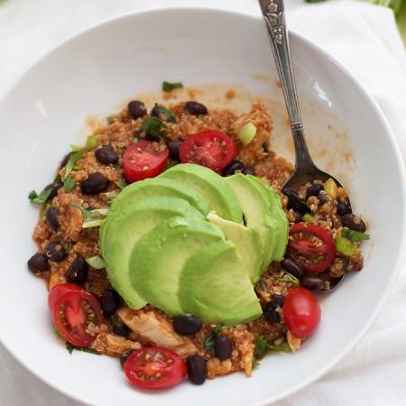 Enchilada Quinoa Bowls. I love quick dinners!