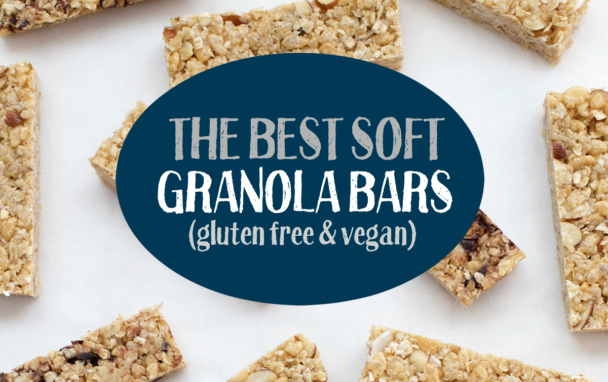 The Perfect Soft Granola Bars - One Lovely Life