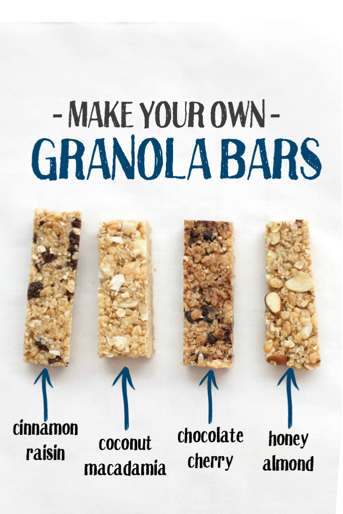 The perfect soft granola bars one lovely life make your own granola bars these are soft chewy and have so many ccuart Image collections