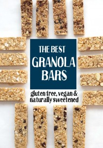 The Perfect Soft Granola Bars