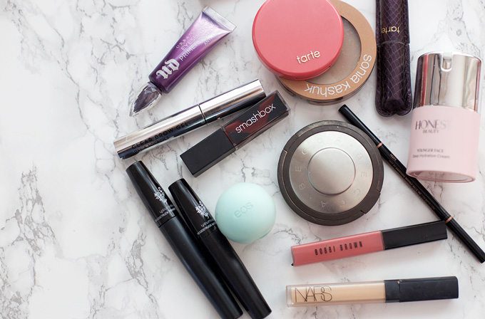 A peek inside my makeup bag - from every day to date night, here are a few of my favorites