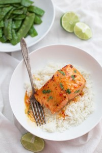 Thai Sweet Chili and Lime Salmon