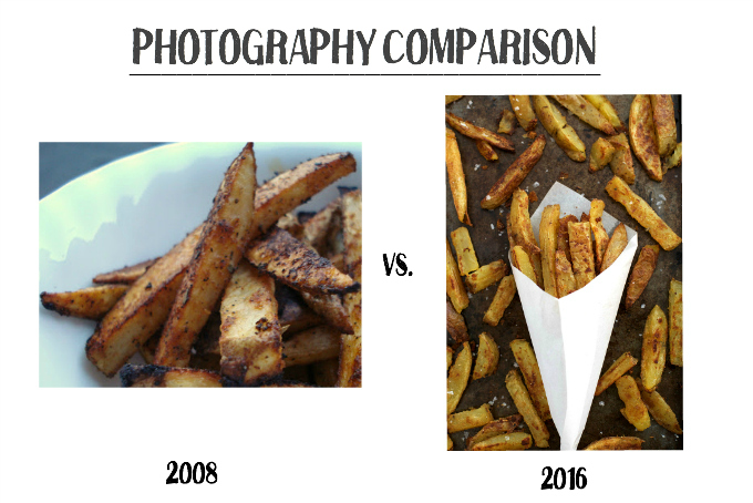 What a difference 8 years makes! These fries were originally posted in 2008.