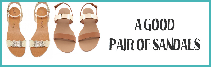 Everyone needs a good pair of summer sandals. These are my faves!