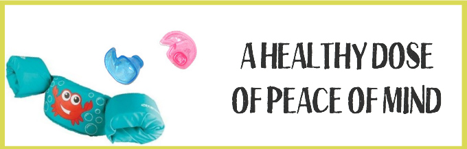 A little peace of mind at the pool goes a long way. The best floaties and ear plugs for little ones!