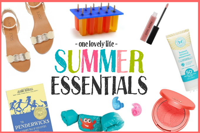 From the best popsicle mold to the best natural sunscreens, we've got your summer essentials covered!