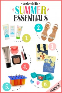 Summer Essentials and Favorites