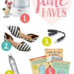 June Favorites - The ice cream maker we love, some cute, comfy flats, amazing hairspray and more...