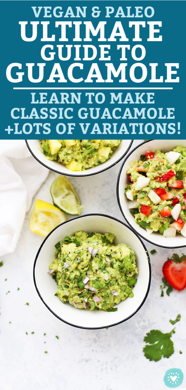 Guacamole Tutorial from One Lovely Life