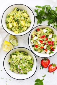 3 Guacamole Recipes from One Lovely Life