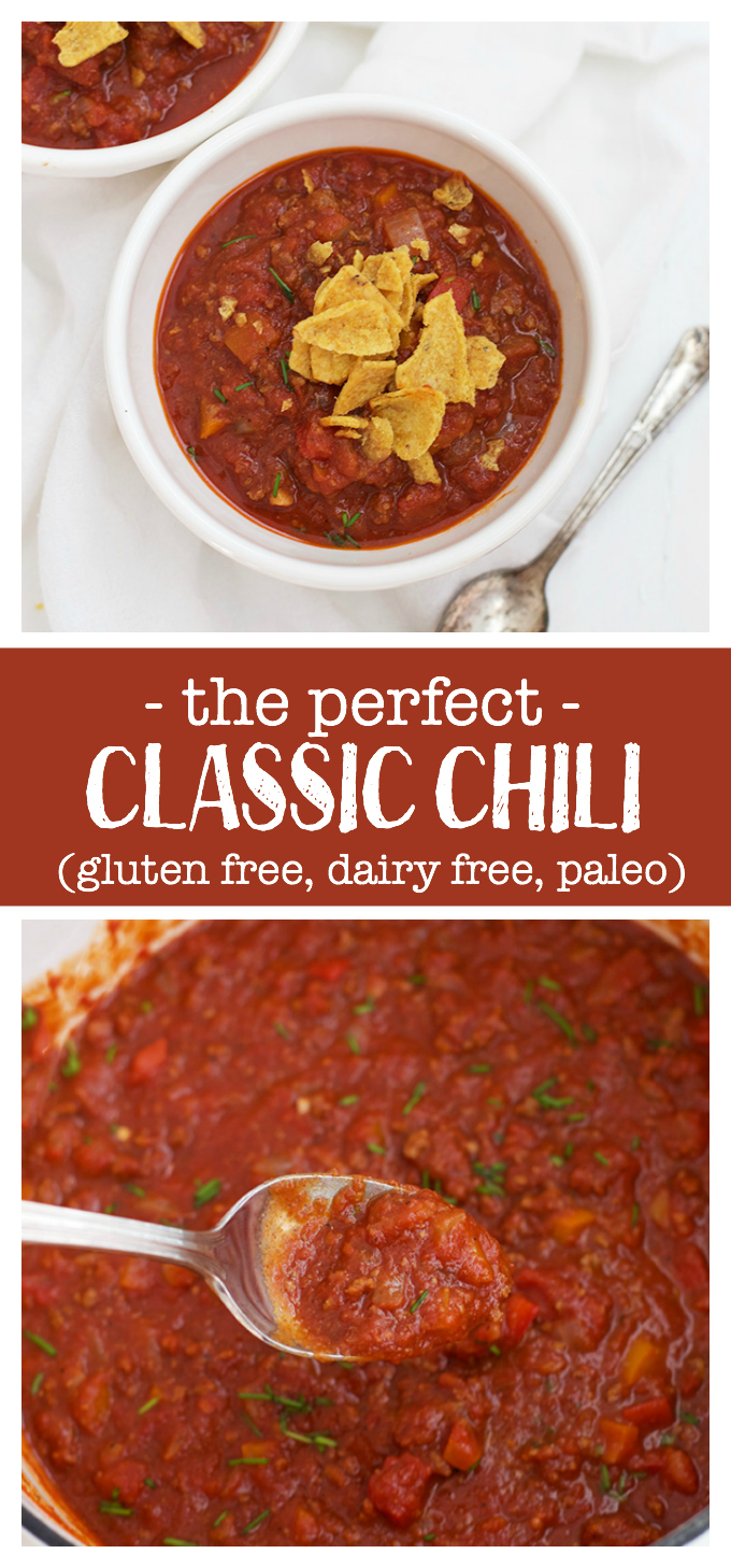 Serve it with cornbread, ladle it over a baked potato, or serve it in bowls, this is the Classic Chili we can't get enough of.