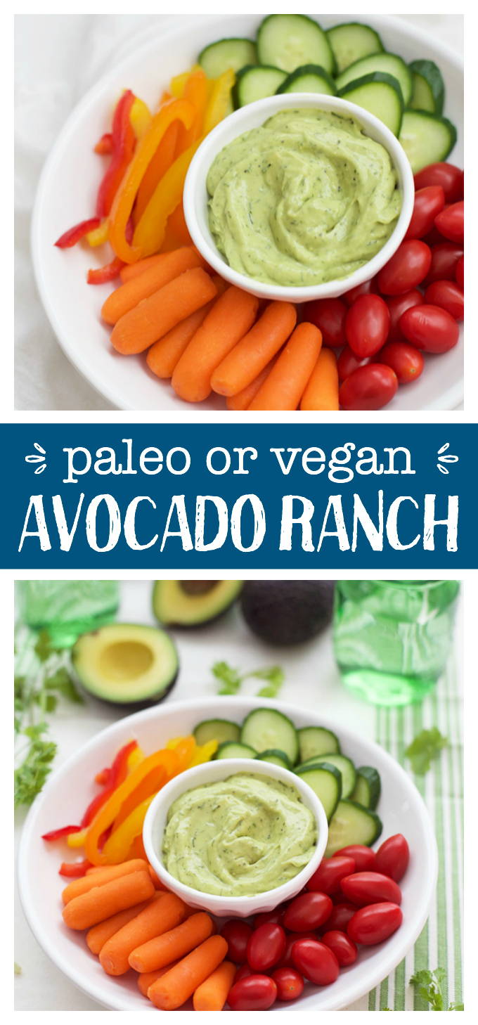 Avocado Ranch. Because dreams really do come true. This is bright, creamy, and so flavorful!