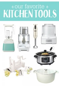 Our Kitchen Essentials - The tools of the trade we use all the time (PLUS, what to make with them!)