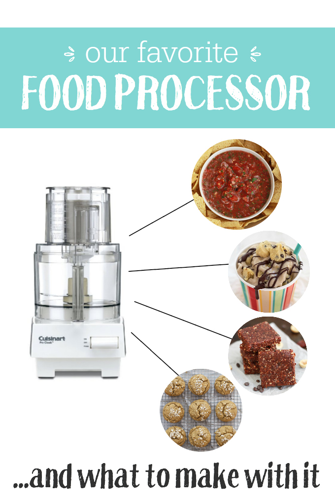 Our favorite food processor (plus, what to make with it!)