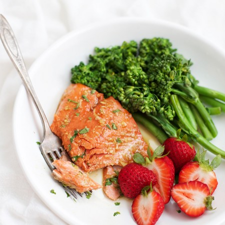 This Honey Garlic Salmon can be made from ingredients in your pantry. Done in just a few minutes and it's DELICIOUS! (Gluten free, paleo)