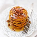 Gluten Free Blender Pumpkin Pancakes - pumpkin oatmeal pancakes made in the blender!