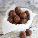 Healthy No Bake Cookie Energy Bites! A little protein boost when you're craving something sweet.