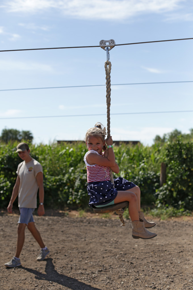 Five Fact Friday - LOVING the zipline!