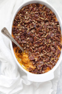 Paleo (or Vegan!) Sweet Potato Casserole