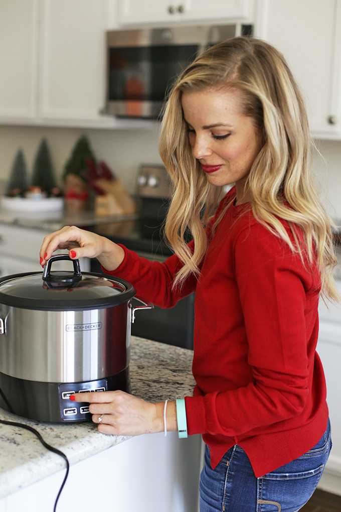 My BLACK+DECKER Rice Cooker is my best friend this season. You can make rice, quinoa, risotto, veggies, potatoes, and even cook fish in it! Here are 3 Simple Sides I make in my rice cooker to make me feel like the hostess with the mostest.