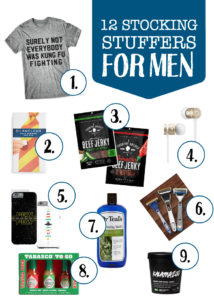 Stocking Stuffer Ideas for Him and Her