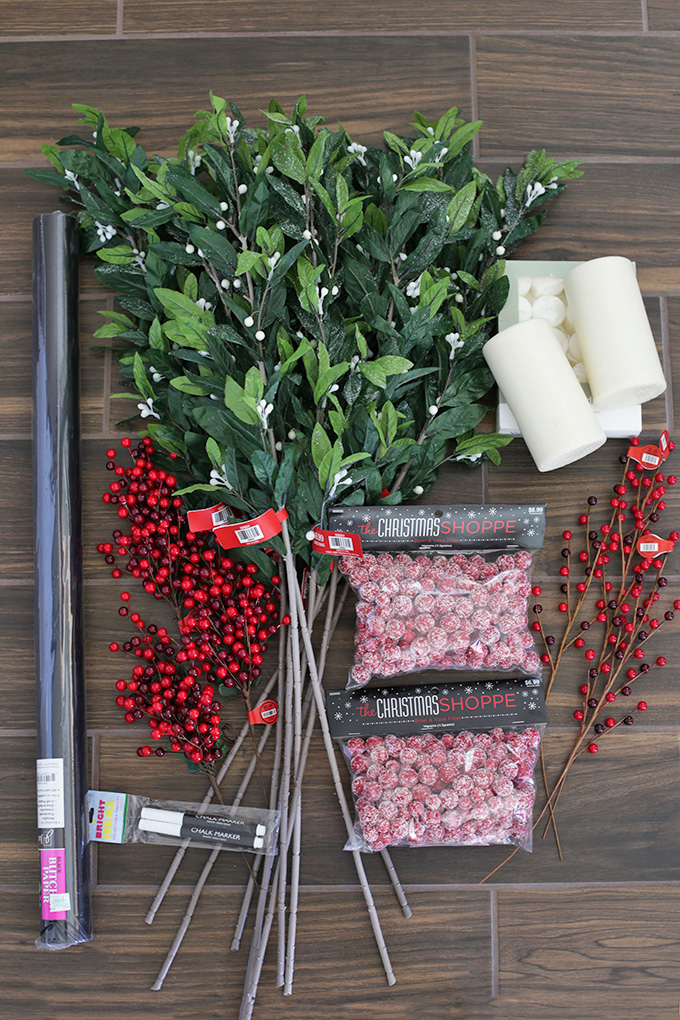I found these beauties at Hobby Lobby. Come see how I put them together to make a gorgeous holiday tables cape!