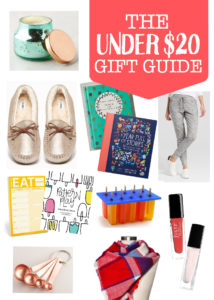 The Under $20 Gift Guide