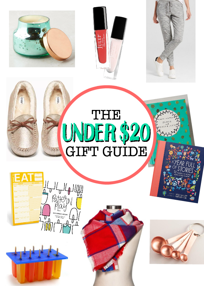 Some of my favorite holiday gifts ALL under $20! Perfect for teachers, friends, family, and YOU!
