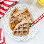 Gluten Free Gingerbread Waffles from One Lovely Life