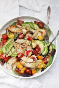 Rosemary Chicken BLT Salad