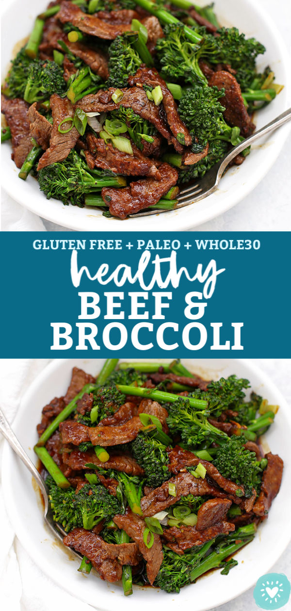 Healthy Beef & Broccoli from One Lovely Life