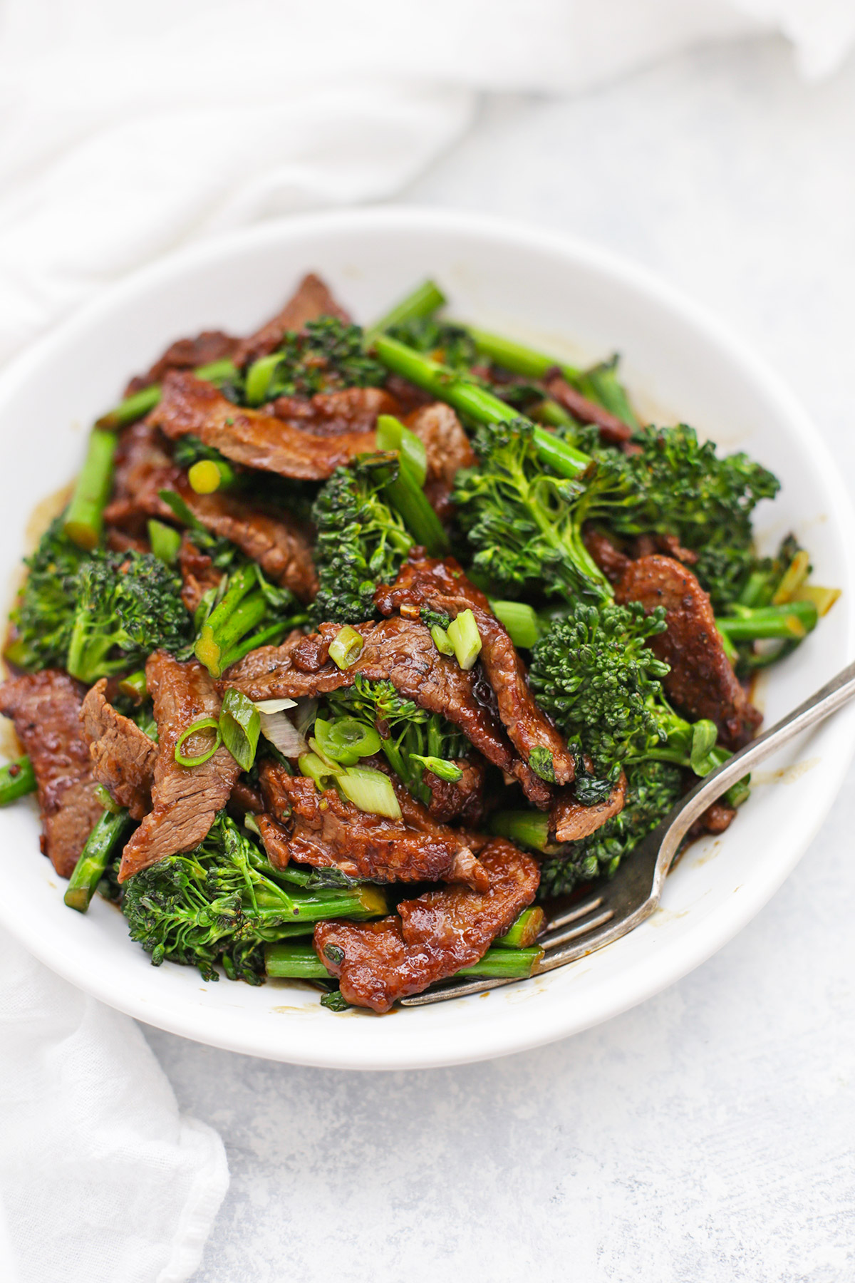 Healthy Beef And Broccoli Paleo Whole30 One Lovely Life