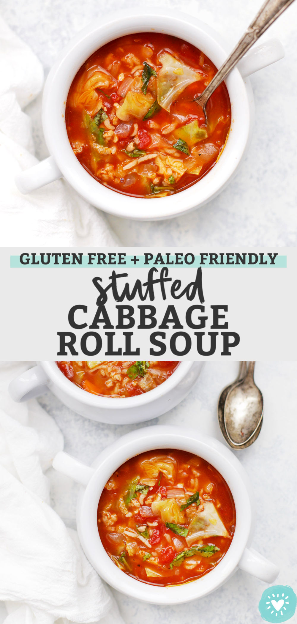 Stuffed Cabbage Roll Soup from One Lovely Life