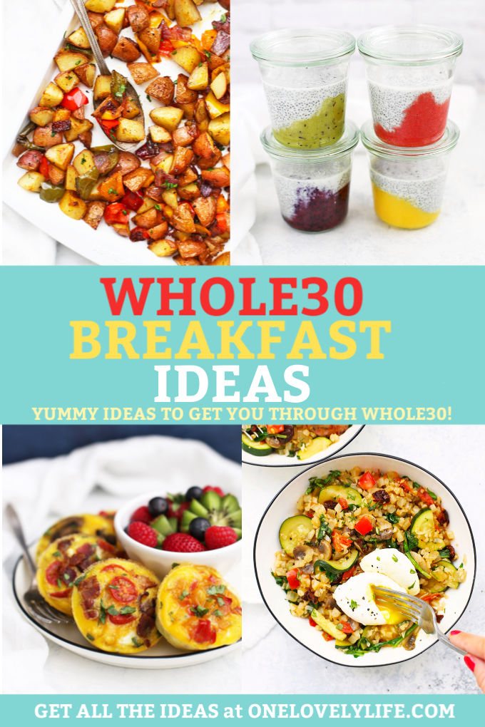Whole30 Breakfast Ideas from One Lovely Life