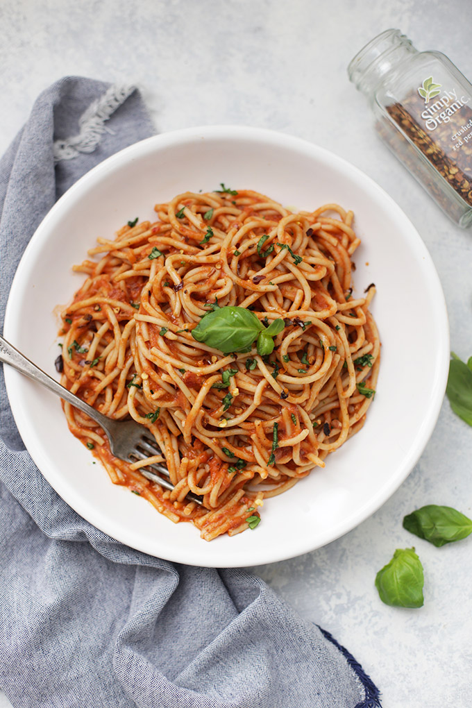 This Pasta Arrabbiata is a great budget friendly recipe. You might have everything on hand already!