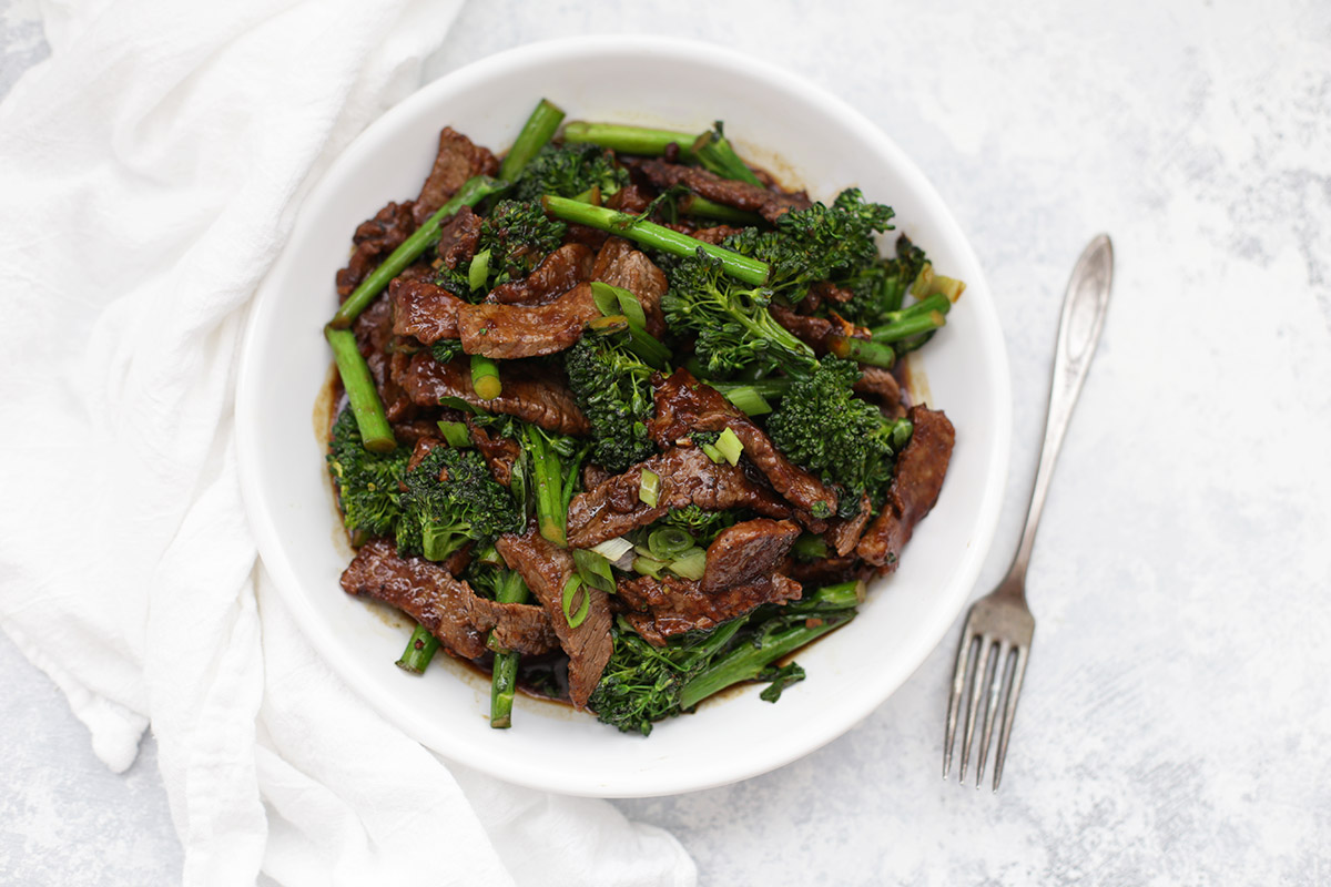 Healthy Beef And Broccoli One Lovely Life