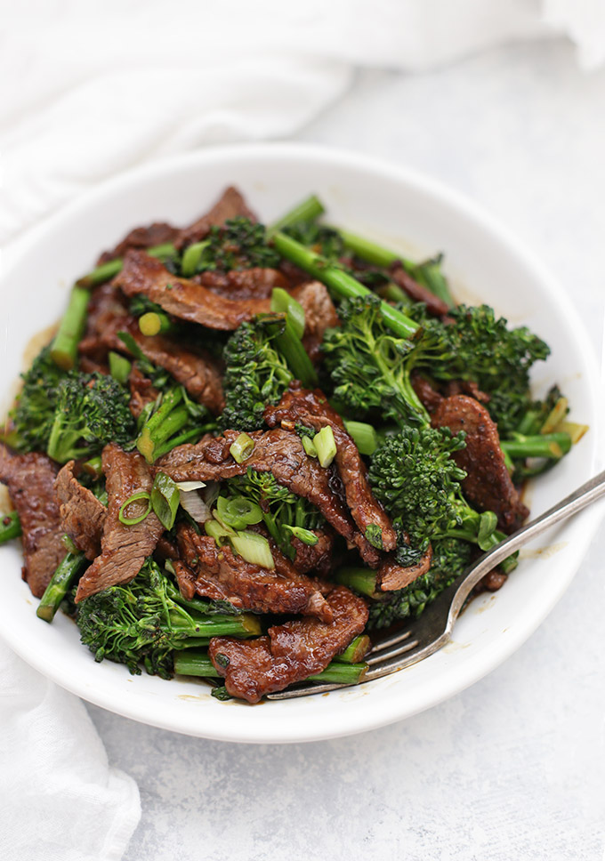 Healthy Beef and Broccoli from One Lovely Life (Paleo & Whole30)