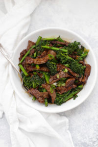 Healthy Beef and Broccoli from One Lovely Life