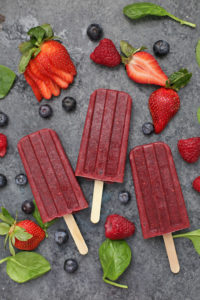 Superfood Very Berry Popsicles