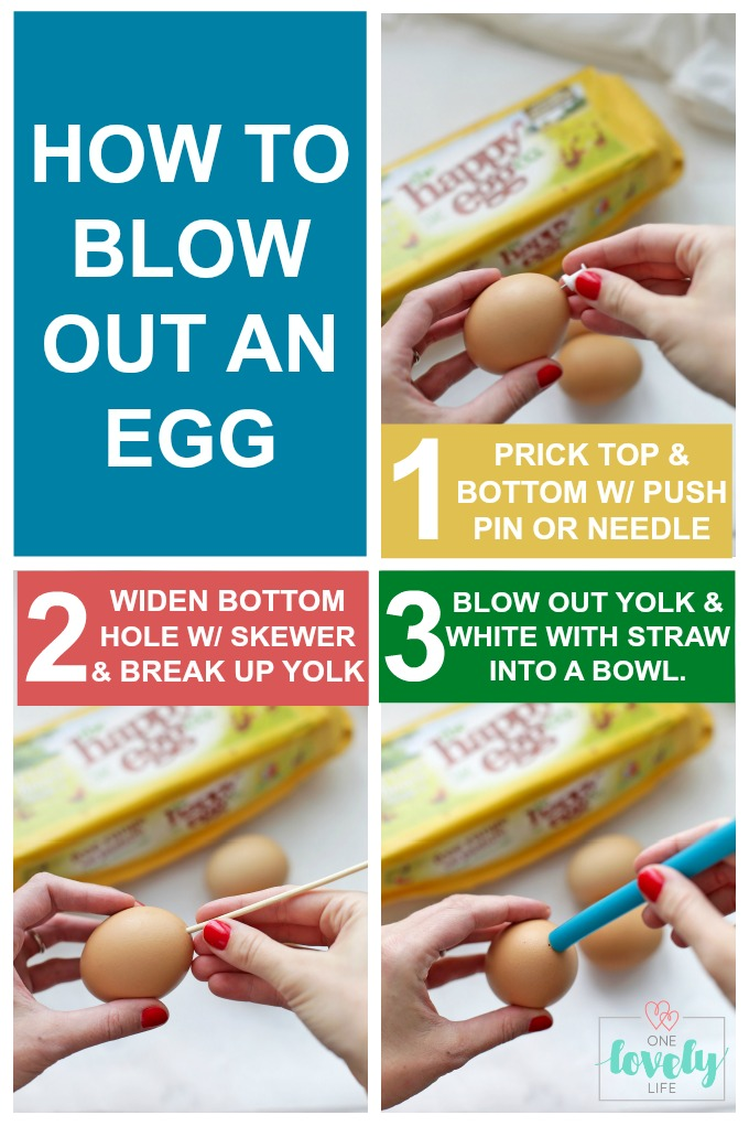 How to Blow Out an Egg (+Creative things to do with them!)