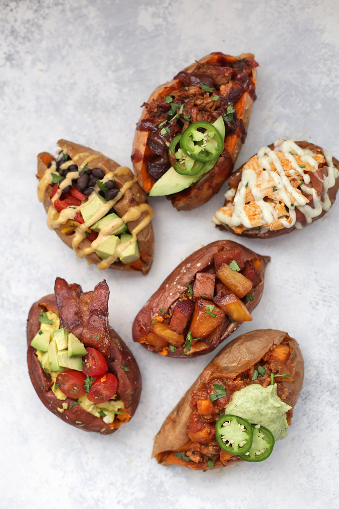 6 Amazing Ways To Stuff A Baked Sweet Potato One Lovely Life