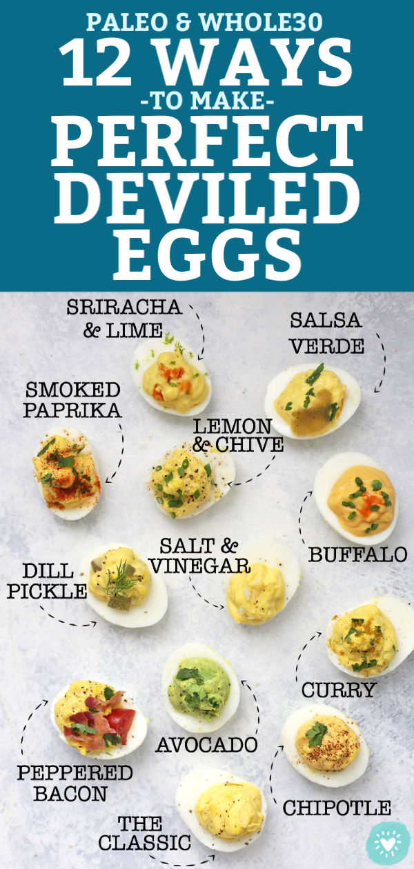 12 Different Types of Deviled Eggs from One Lovely Life