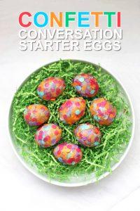 Confetti Conversation Starter Eggs