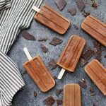 Cream, dreamy, and delicious! These Healthy Homemade Fudgecicles are everything good! The perfect paleo or vegan treat for warm weather!