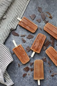 Homemade Fudgecicles
