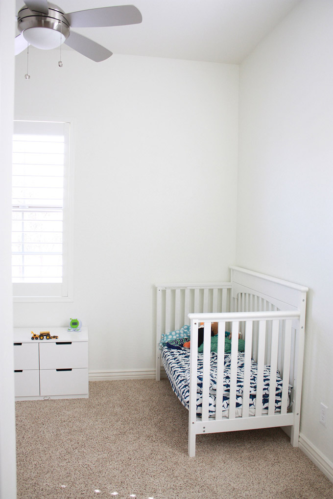 Milo's Room: BEFORE